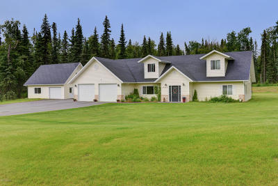 Soldotna Single Family Home For Sale: 34845 Schwalm Road
