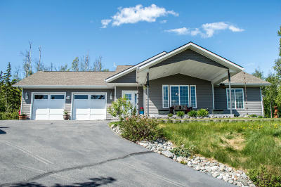 Wasilla Single Family Home For Sale: 2837 N Bonnie Belle Circle