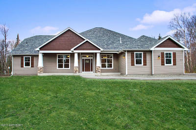 Anchorage, Eagle River, Palmer, Wasilla Single Family Home For Sale: 7603 S Settlers Bay Drive
