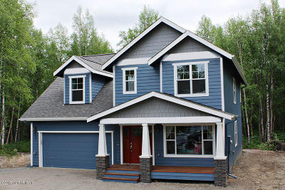 Wasilla Single Family Home For Sale: 7695 S Settlers Bay Drive
