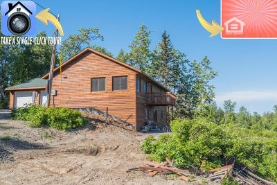Nikiski/North Kenai (312) Single Family Home For Sale: 50138 McGahan Ridge Trail