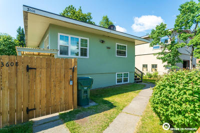 Anchorage Multi Family Home For Sale: 3608 Oregon Drive