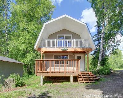 Wasilla AK Single Family Home For Sale: $155,000
