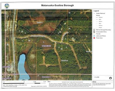 1d - Matanuska Susitna Borough Residential Lots & Land For Sale: 104 Mt. Juno Circle