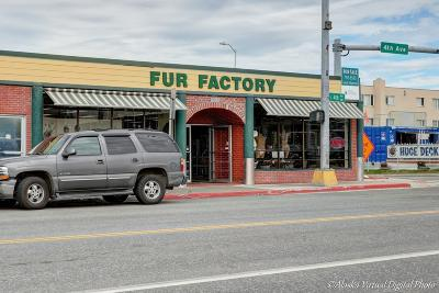 Anchorage Commercial For Sale: 105 W 4th Avenue