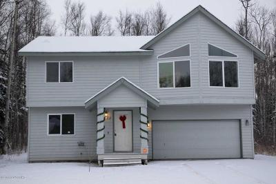 Wasilla Single Family Home For Sale: 6880 W Dow Drive