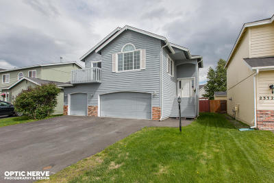 Anchorage Single Family Home For Sale: 2324 Casey Cusack Loop