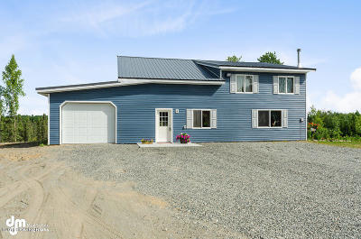 Wasilla Single Family Home For Sale: 12606 S Knik Goose Bay Rd