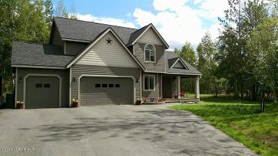 Wasilla Single Family Home For Sale: 2701 N Barrys Resort Drive