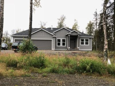 Wasilla Single Family Home For Sale: 9956 W Clay Chapman Road