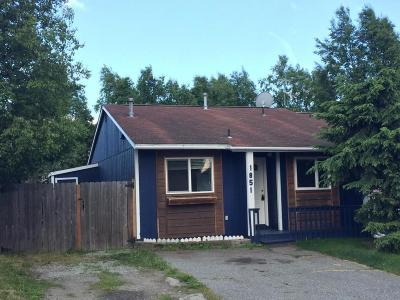 Anchorage Single Family Home For Sale: 1851 Bellevue Loop