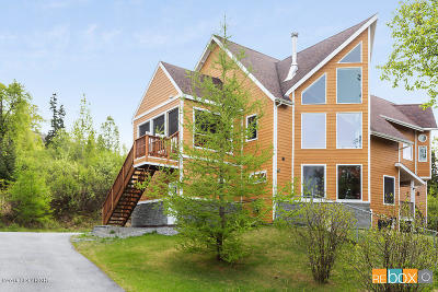 Anchorage Single Family Home For Sale: 9625 Basher Drive