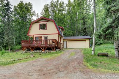 Eagle River Single Family Home For Sale: 10261 Crest View Lane