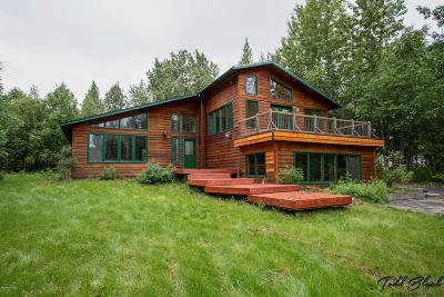 Wasilla Single Family Home For Sale: 850 S Stamper Drive