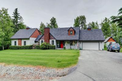 Chugiak Single Family Home For Sale: 25249 Schaff Drive