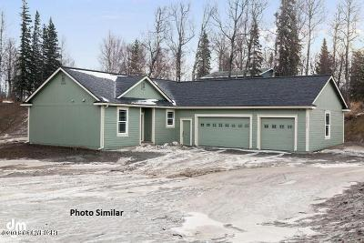 Wasilla Single Family Home For Sale: 288 N Meadow Lakes Loop