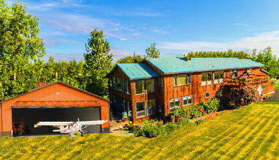 Anchorage, Eagle River, Girdwood, Chugiak Single Family Home For Sale: 23714 Chandelle Drive