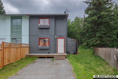 Anchorage Single Family Home For Sale: 261 Yellow Leaf Circle