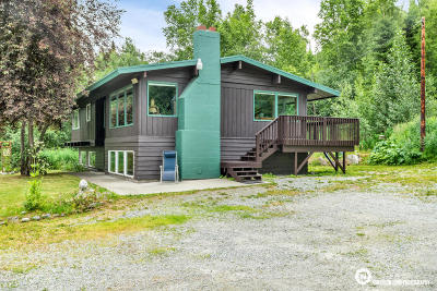 Chugiak Single Family Home For Sale: 17933 Old Glenn Highway