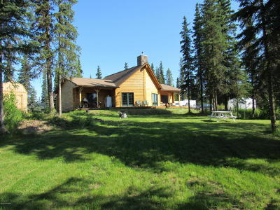 Kasilof Single Family Home For Sale: 52135 Creek End Road