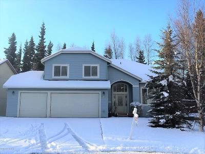 Eagle River, Chugiak Single Family Home For Sale: 8722 Plumas Circle