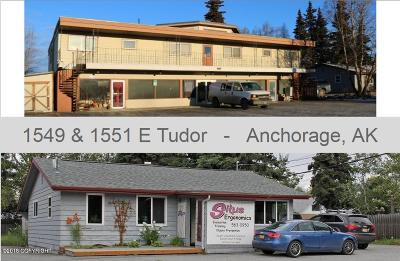 Anchorage Commercial For Sale: 1549 E Tudor Road #1551