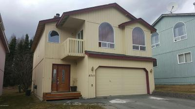 Anchorage Single Family Home For Sale: 8715 Cross Pointe Loop