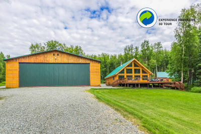 1d - Matanuska Susitna Borough Single Family Home For Sale: 3121 N Paradise Lane