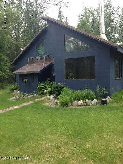 Palmer Single Family Home For Sale: 8904 Wasilla-Fishhook Road