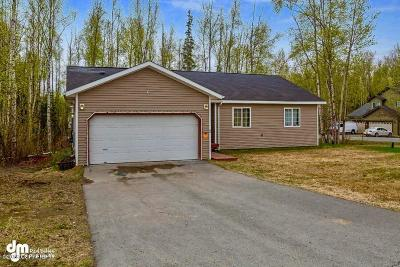 Wasilla AK Single Family Home For Sale: $199,000