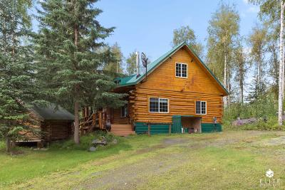 Wasilla Single Family Home For Sale: 2386 N Lewis Road
