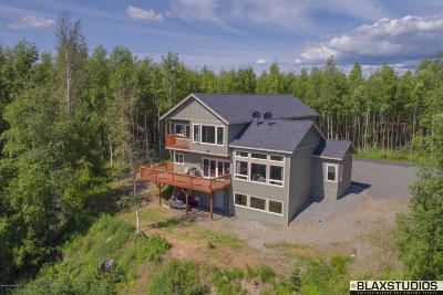 Wasilla Single Family Home For Sale: 516 E Bluff Vista Circle