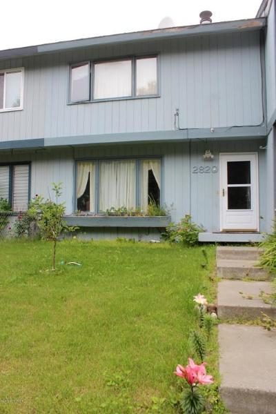 Anchorage Single Family Home For Sale: 2820 Leighton Street