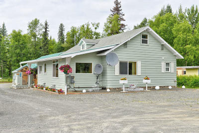 Soldotna Single Family Home For Sale: 36475 Kenai Spur Highway