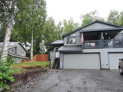 Eagle River Single Family Home For Sale: 18615 S Kanaga Loop