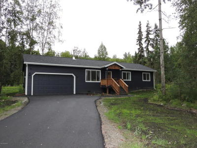 Chugiak Single Family Home For Sale: 20825 Helluva Street