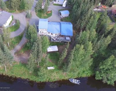 Soldotna, Sterling, Kenai Single Family Home For Sale: 38521 A Private Road