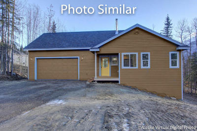 Eagle River Single Family Home For Sale: L4 B4 S River Circle