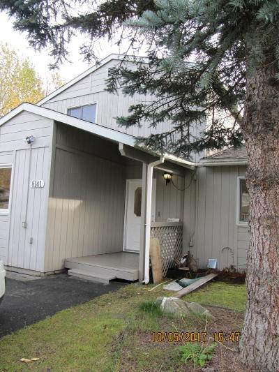 Anchorage Single Family Home For Sale: 8141 Harvest Circle