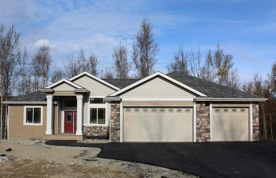 Wasilla Single Family Home For Sale: 5065 W Pinnacle Ridge Circle