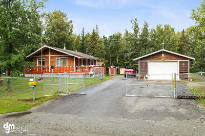 Wasilla Single Family Home For Sale: 3600 N Bald Eagle Drive