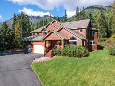 Eagle River, Chugiak Single Family Home For Sale: 25731 Denaina Drive