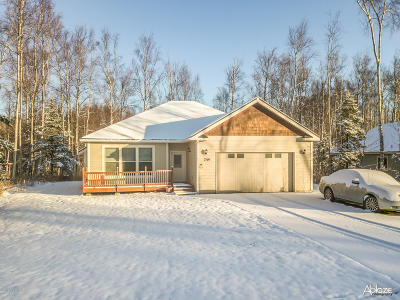 Wasilla AK Single Family Home For Sale: $256,000