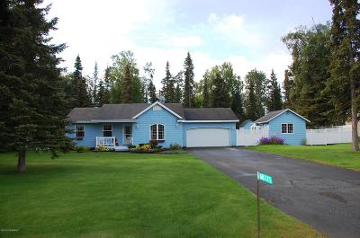 Soldotna, Sterling, Kenai Single Family Home For Sale: 48115 Woken Court