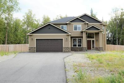 Wasilla AK Single Family Home For Sale: $376,000