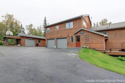 Wasilla Single Family Home For Sale: 4401 E Birch Drive