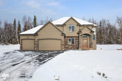 Big Lake, Palmer, Sutton, Wasilla, Willow Single Family Home For Sale: 3647 S Barn Gable Loop
