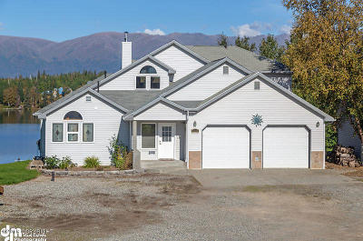 Wasilla Single Family Home For Sale: 7221 E Waldron Cove Court