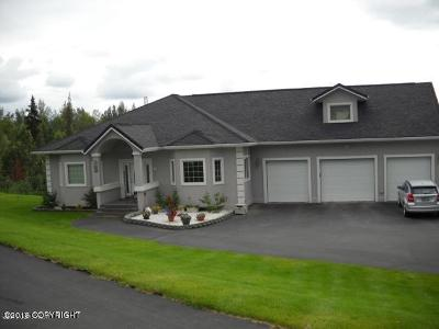 Wasilla Single Family Home For Sale: 1560 N Legacy Lane
