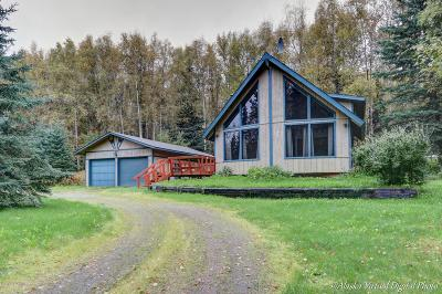 Wasilla Single Family Home For Sale: 2651 N Larry Trail